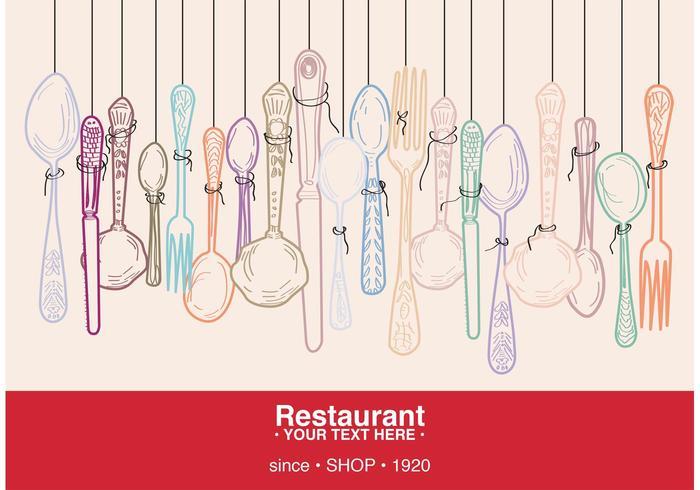 Restaurantkaart vector
