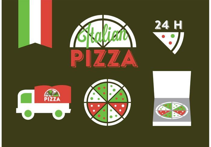 Italiaanse Badge Vectoren