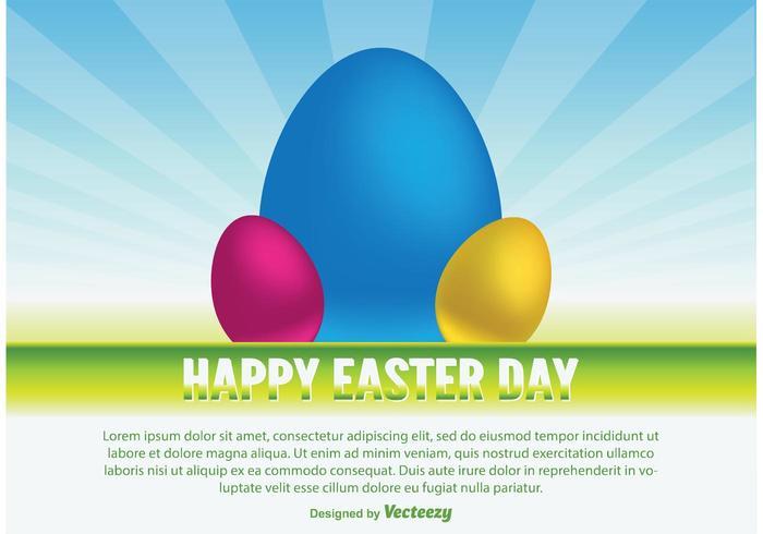 Happy Easter Vector Illustratie
