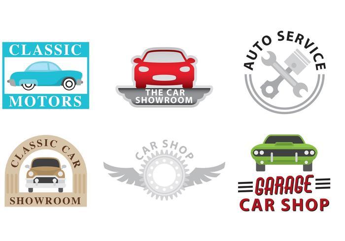 Car Dealership Logo Vectoren