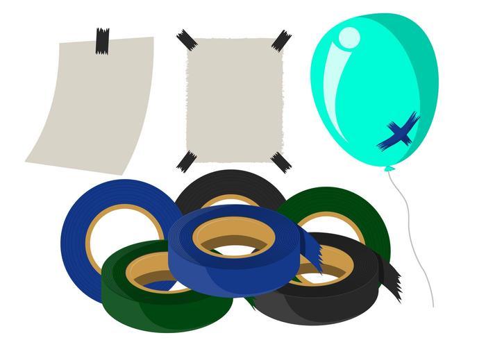 Vector tape tape