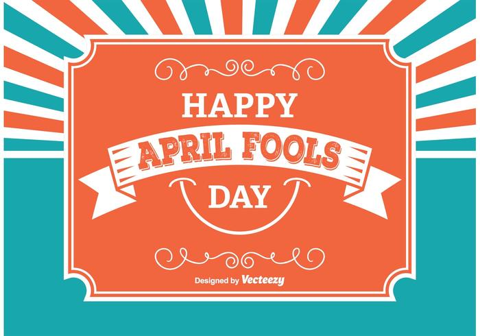 April Fools Illustratie vector