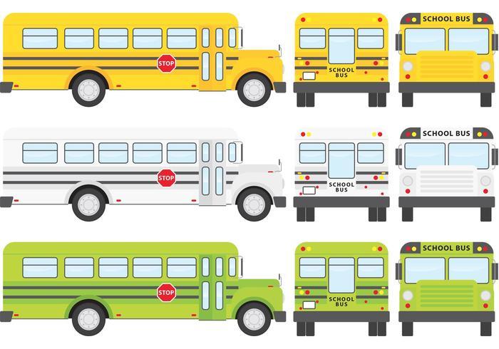 School Bus Vectoren