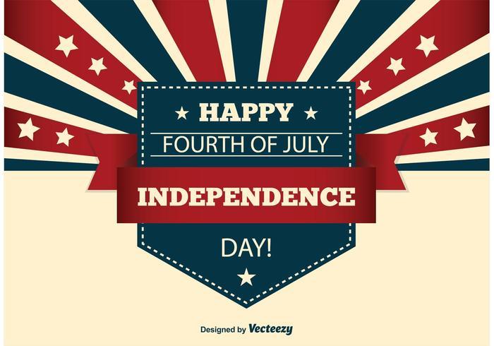 Onafhankelijkheidsdag illustratie vector