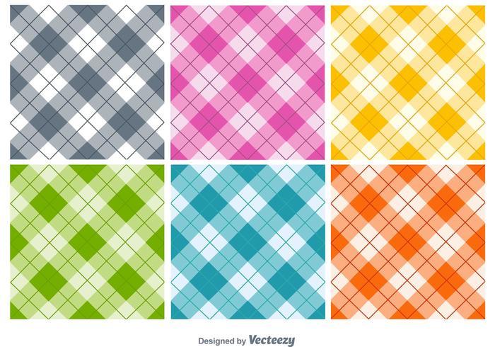 Naadloze Textielpatronen vector