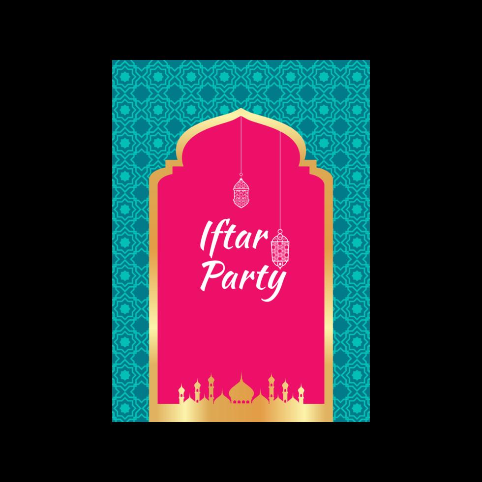 ramadan kareem banner voor ramadan feest vector