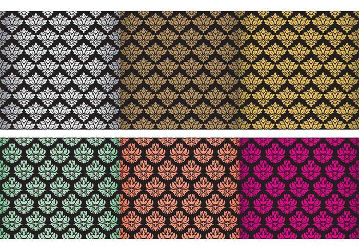 Classic Damask Tapestry Vectoren