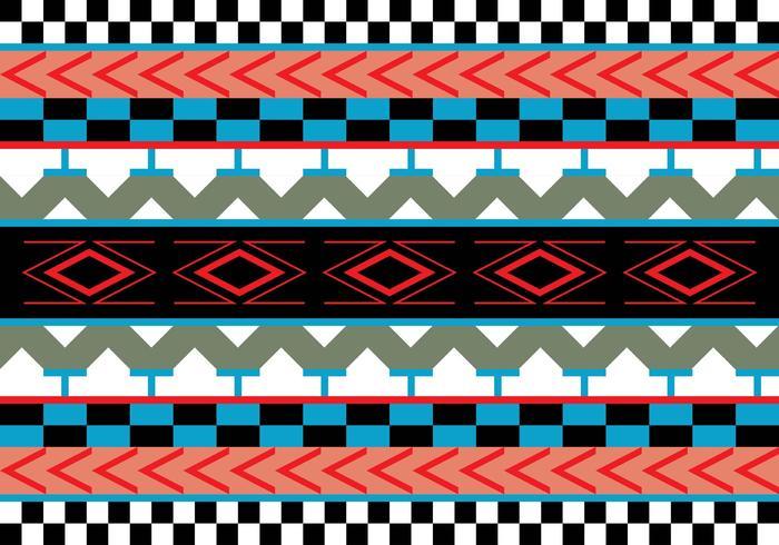 Azteekpatroon Vectorillustratie vector