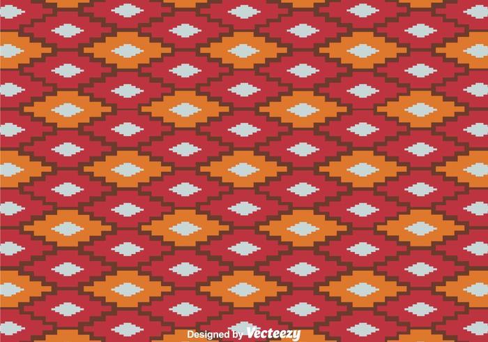 Herhaal Aztec Patroon Vector