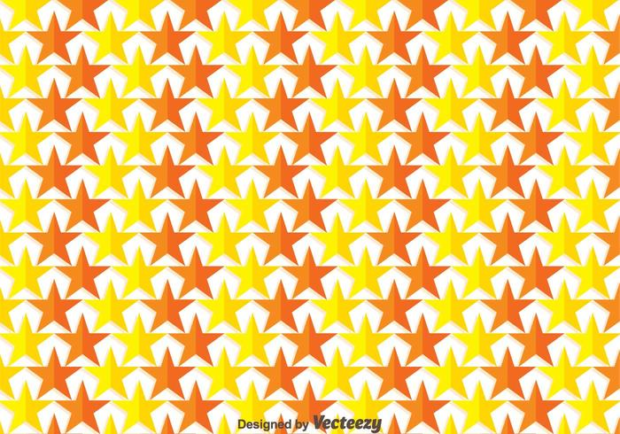 Gele En Oranje Ster Achtergrond Vector