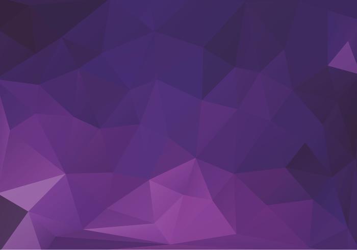 Gratis Paarse Driehoeken Vector