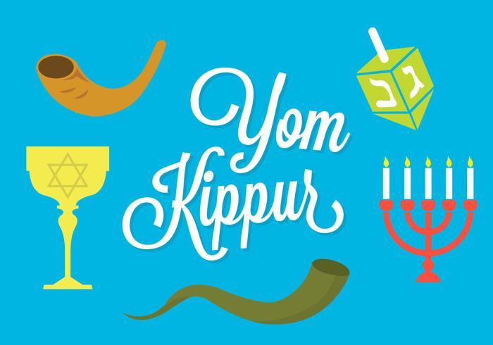 Yom kippur vector