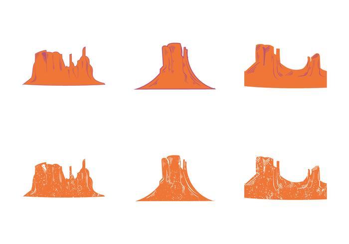 Gratis Grand Canyon Vector Silhouet