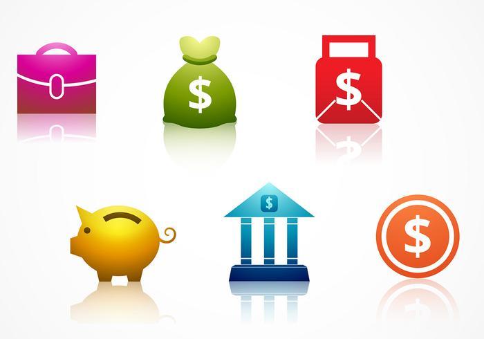 Bank Pictogram Vector