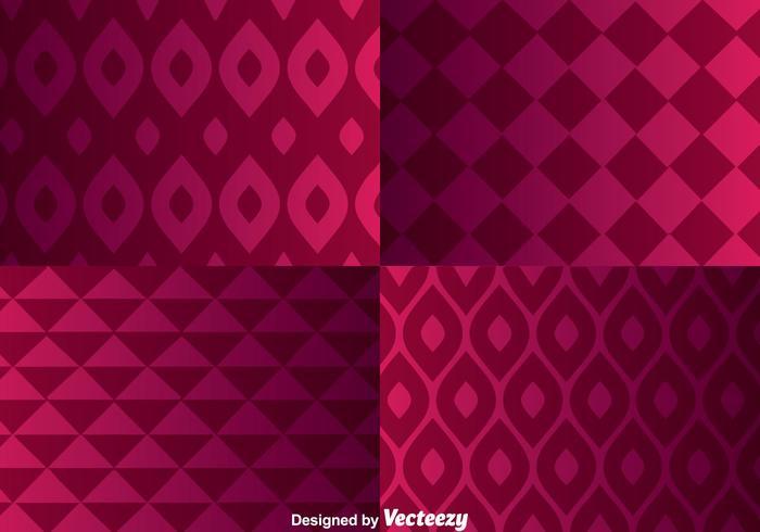 Geomaterische Paars Achtergrond vector