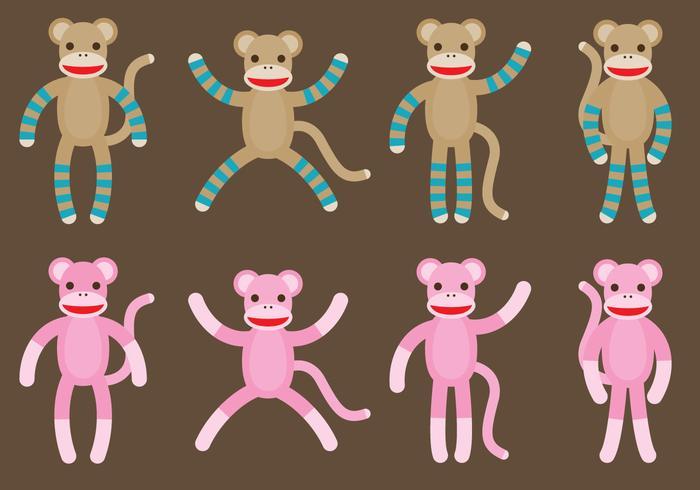 Sok apen vector