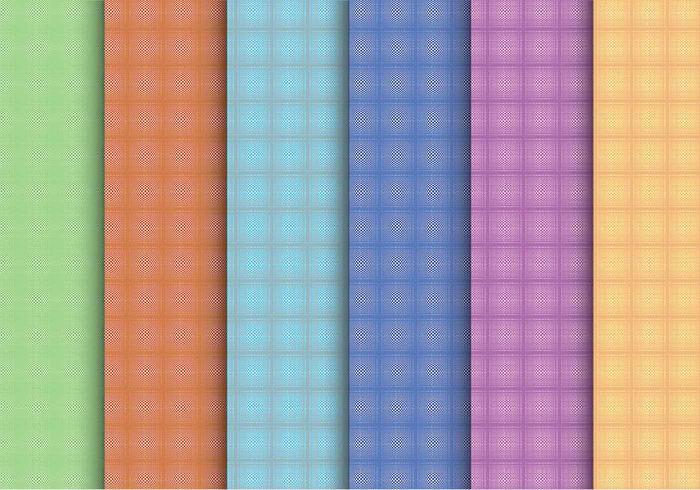 Creatieve Plaid Pattern Vectors