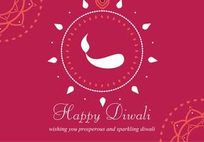 Gelukkige Diwali Achtergrond vector