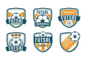 Futsal Logo Toernooi vector