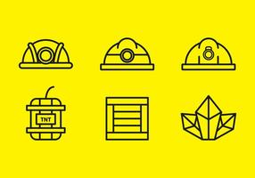 Gratis Gold Mine Vector Icons # 9
