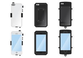 Onderwater Telefoon Case vector