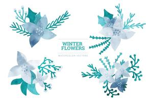 Vector Winter Elementen