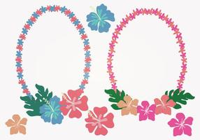 Hawaiiaanse Lei Vectorillustratie