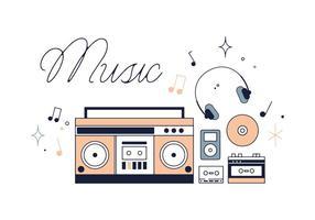 Gratis Muziek Vector