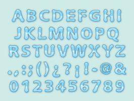 Water lettertype