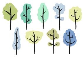 Gratis Bomen Vector