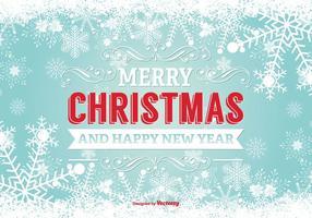 Vrolijke Kerstmisillustratie vector