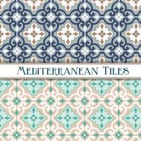 geometrische mediterrane patronen vector