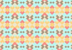 Koraal Abstract Geometrische Vector Achtergrond