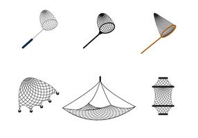 Gratis Fishing Net Vector