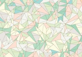 Pastel Abstract Edelsteenpatroon vector