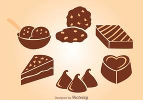Chocolade Snack vector