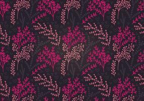 Moody Botanisch Vector Naadloos Patroon