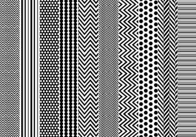 Gratis eenvoudige patronen vectoren