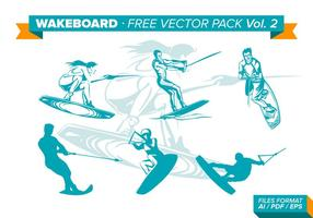 Wakeboard Gratis Vector Pack