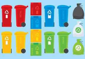 Kleurrijke Containers vector