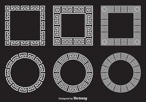 Gratis Griekse Sleutel Vector Frames