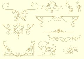 Decoratieve Arabesco Lines