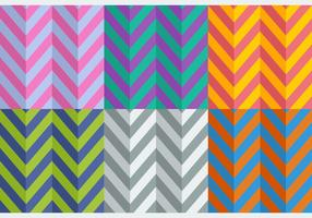 Gratis Flat Style Herringbone Patterns vector
