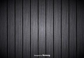 Grijze houten achtergrond vector