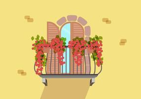 Balkon Gratis Vector