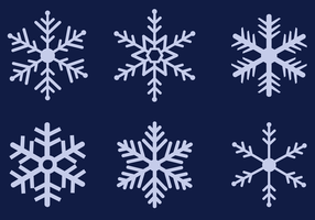 Gratis Sneeuwvlokken Vector