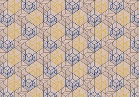 Abstracte lineaire deco patroon achtergrond vector