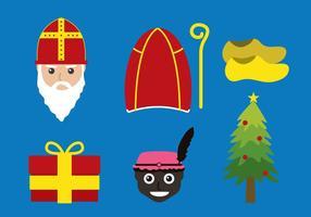 Kerstmis Nederland vector