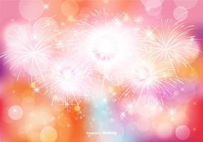 Abstracte Bokeh en Glitter Achtergrond Illustratie vector