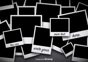 Foto Collage Vector Achtergrond
